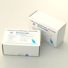 Тест-набор ИммуноКомб® VacciCheck® (Infectious hepatitis, parvovirus & distemper IgG antibody)